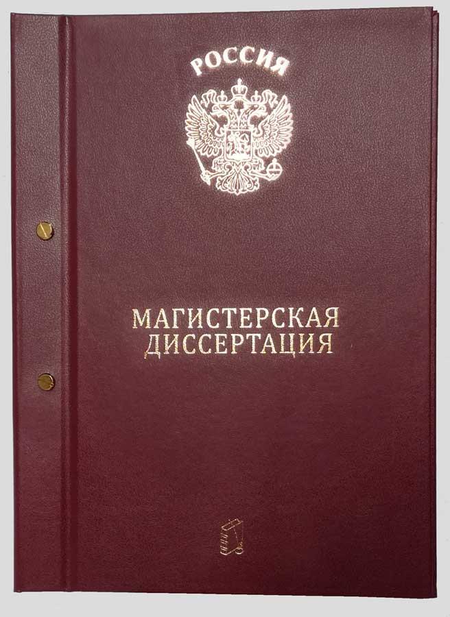 Папка Магистерская диссертация